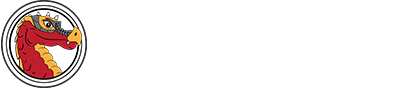 "Seitz Logo with ""Home of the Dragons"""